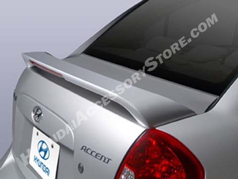 2006 Hyundai Accent Rear Spoiler