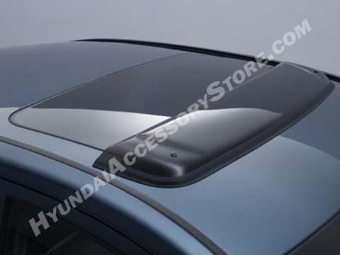 Hyundai Sonata Sunroof Wind Defector on 2006 Hyundai Azera Parts