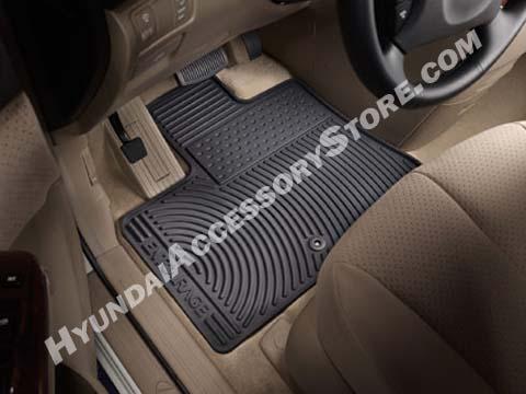Hyundai Entourage Rubber Mats