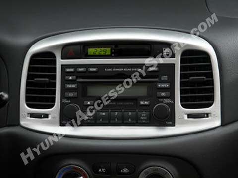 Hyundai Accent Metal Grain Center Fascia