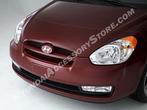 Hyundai Accent Clear Front Protector