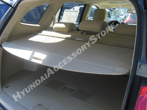 2007 12 Hyundai Santa Fe Cargo Screen