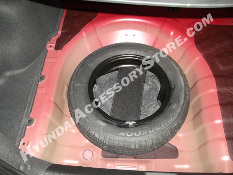2012+ Hyundai Accent Spare Tire Kit