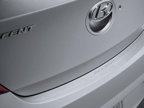 Hyundai Accent Rear Bumper Applique