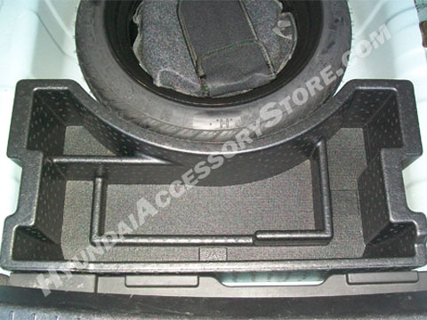 Hyundai Accent Spare Tire Organizer