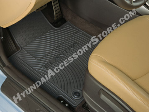 2011 16 Hyundai Elantra All Weather Floor Mats