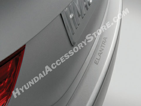 2011 16 Hyundai Elantra Rear Bumper Applique