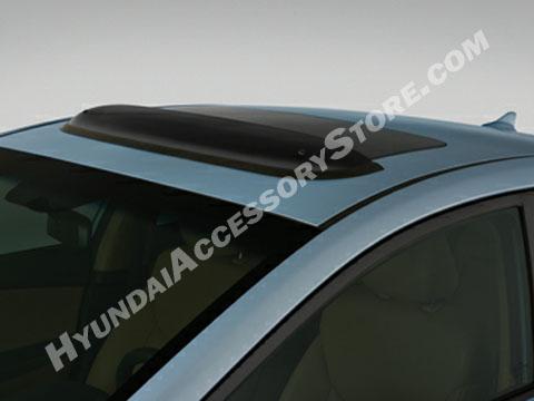 Hyundai Elantra Sunroof Deflector