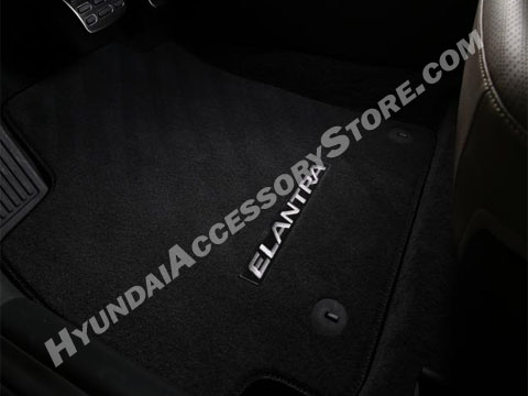 2017 Hyundai Elantra Carpeted Floor Mats