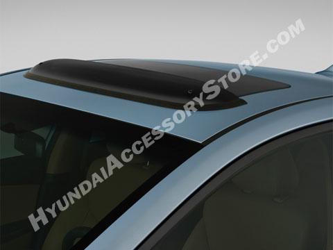 2017 Hyundai Elantra Sunroof Deflector