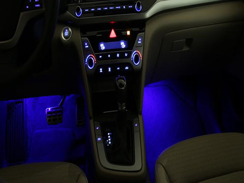 Hyundai Elantra Interior Lighting Kit