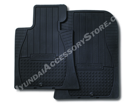 2009 14 Hyundai Genesis Sedan All Weather Mats