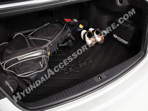 2009 14 Hyundai Genesis Sedan Cargo Tray