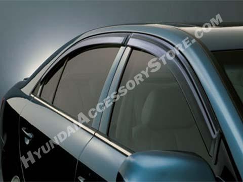 Hyundai Genesis Vent Visors