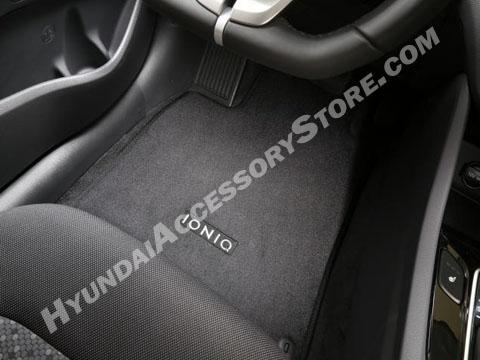 Hyundai Ioniq Carpeted Floor Mats