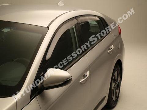 Hyundai Ioniq Vent Visors