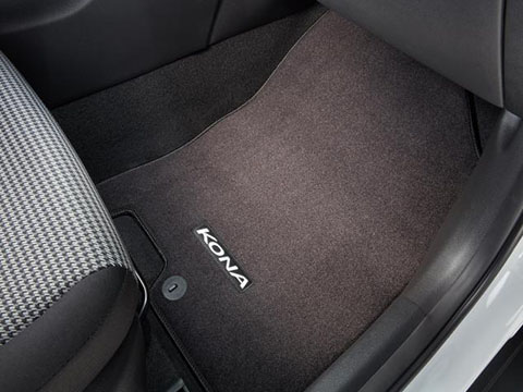 Hyundai Kona Carpeted Floor Mats