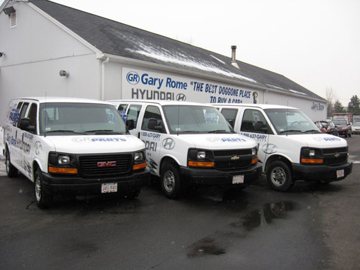 Hyundai Parts and Accessories Dealership and Delivery