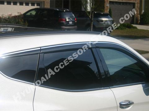 2013_Hyundai_santa_fe_premium_vent_visors