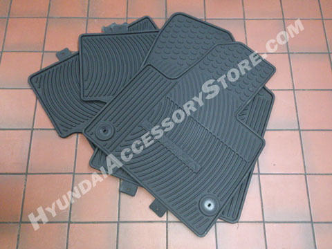 Hyundai Santa Fe All Weather Floor Mats
