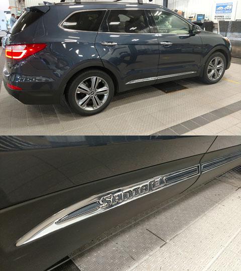 Hyundai Santa Fe Body Side Moldings