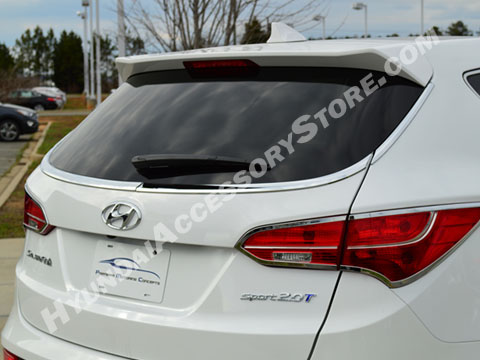 Hyundai Santa Fe Sport Chrome Rear Window Surround