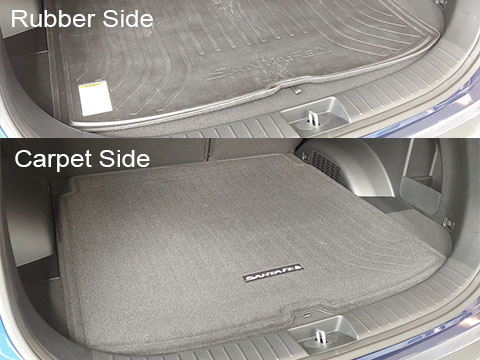Hyundai Santa Fe Reversible Cargo Tray/Mat
