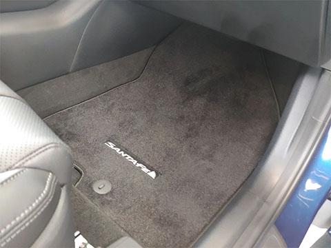 2019 20 Hyundai Santa Fe Carpeted Floor Mats