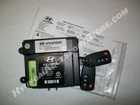 2010 12 Hyundai Santa Fe Remote Starter