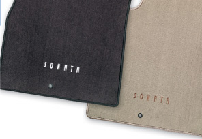 Hyundai Sonata Floor Mats, Carpeted
