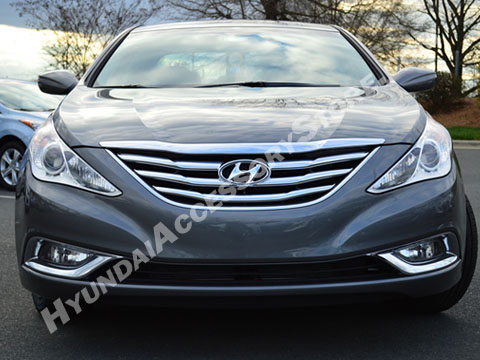 Hyundai Sonata Chrome Grille Overlay