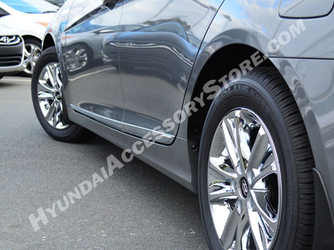 Hyundai Sonata Chrome Lower Door Molding