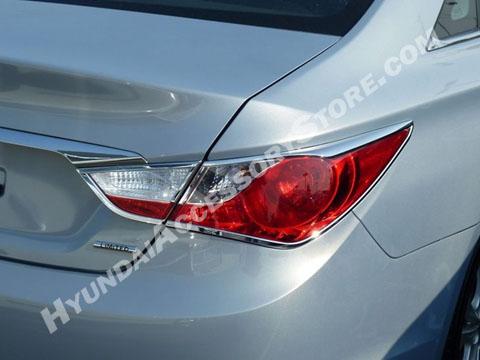 Hyundai Sonata Chrome Tail Lamp Bezels