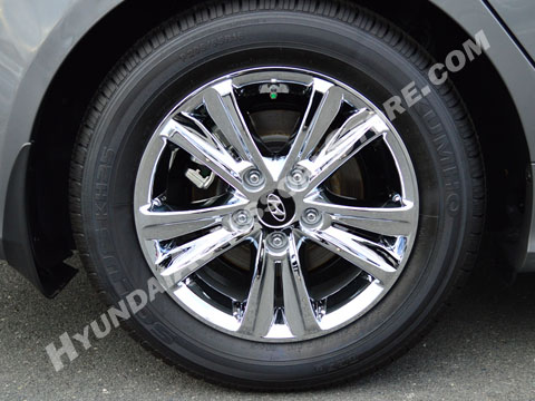 Hyundai Sonata Chrome Wheel Covers