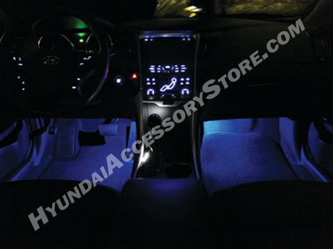 Custom Car Interior Lighting