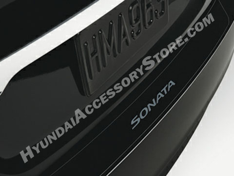 2011 13 Hyundai Sonata Rear Bumper Applique