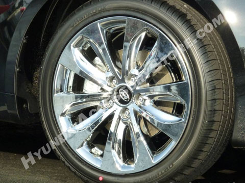 2011 13 Hyundai Sonata Chrome Wheel Cover Set Se Limited Model