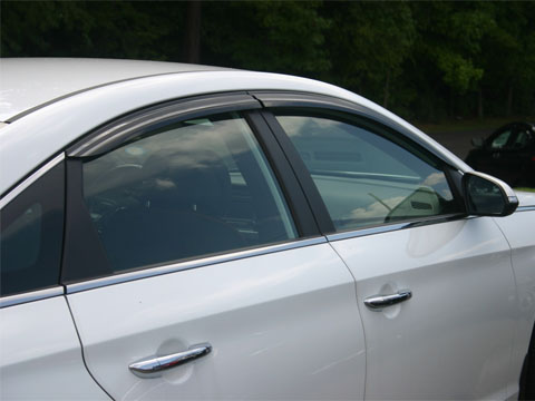 2011 Hyundai Sonata Ventvisor