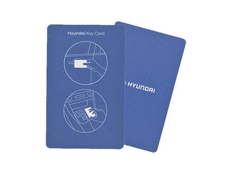 Hyundai Tucson NFC Key Card