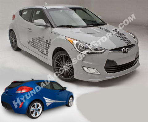 Hyundai Veloster Vinyl Graphic Kit