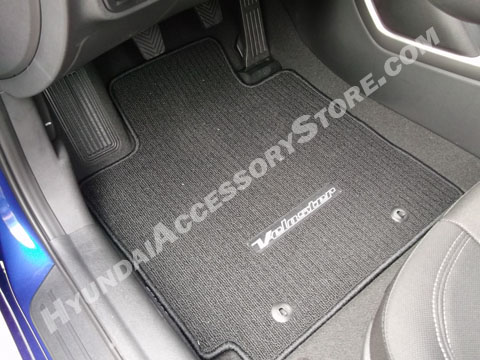 Hyundai Veloster Carpeted Floor Mats