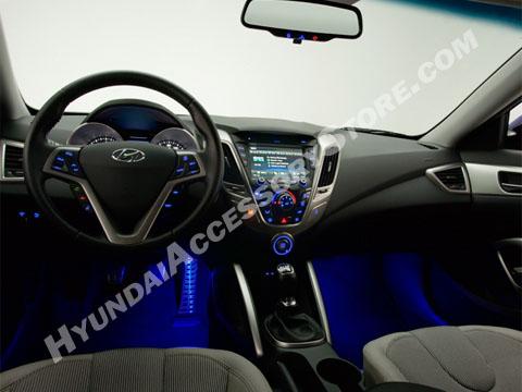 Hyundai veloster led lighting kit - Hyundai veloster interior accessories ...