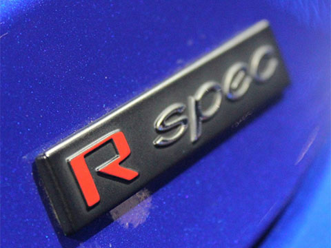Hyundai Veloster R-Spec Badge