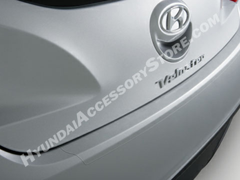 Hyundai Veloster Rear Bumper Applique