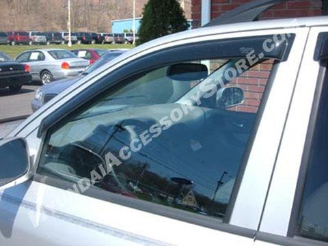 Hyundai santa fe 2007 window deflector wind visors for Ventilation fenetre